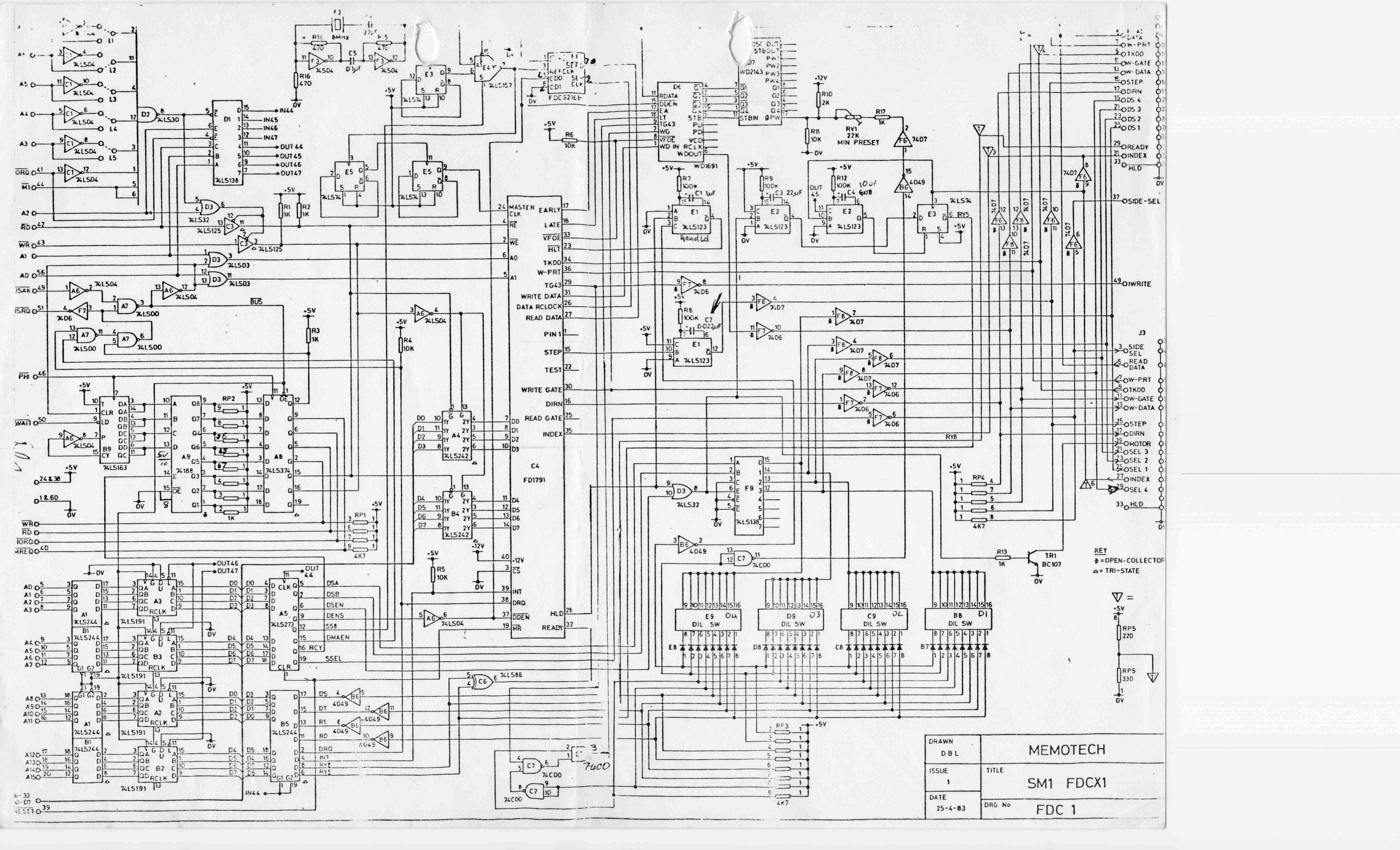 Memotech Mtx 512 Manuals Click For Full Schematic Diagram