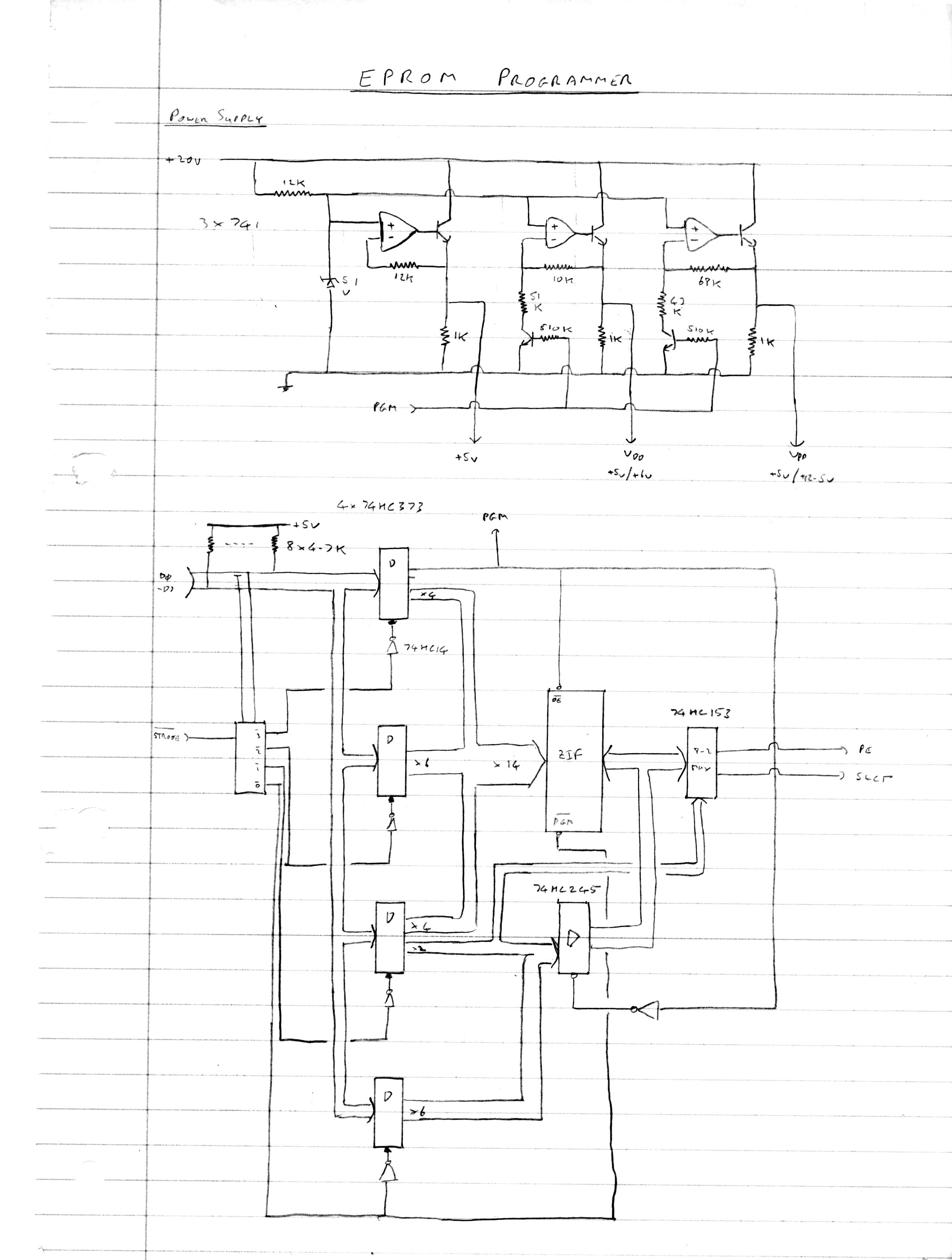 Memotech MTX 512 - Projects : EPROM Programmer