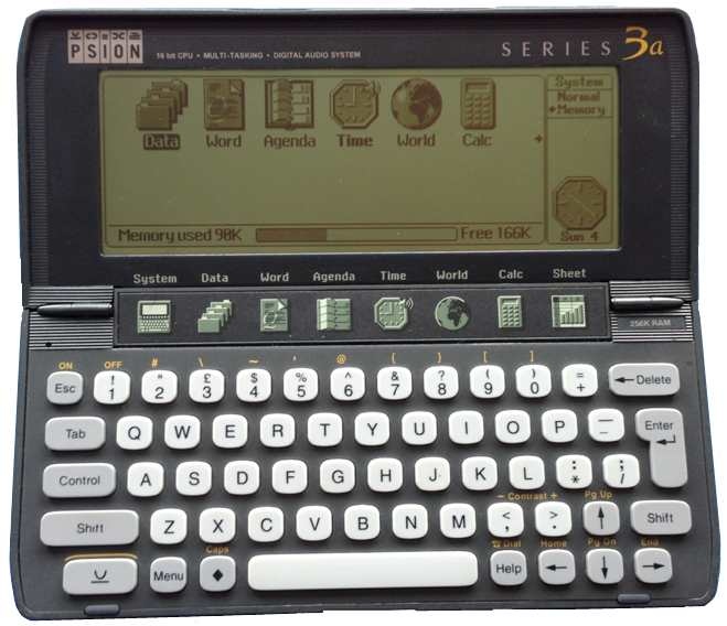 Psion Series 3C Software